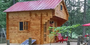 Timber Log Cabin, Granny Flat, Bunkie