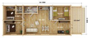 Residential Cabin CRAIG, Australian Log Homes