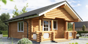 Timber Log Cabin, Granny Flat, 1 Bedroom