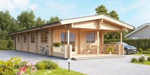Timber Log Cabin, Granny Flat, CRAIG