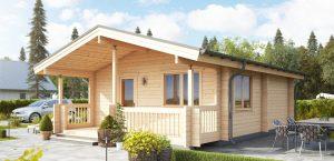 Timber Log Buildings Australia, Cumbria Cabin, 1 bedroom