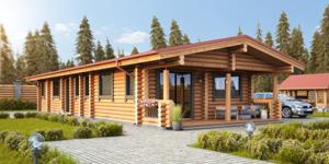 Timber Log Cabin, Granny Flat, DIANE