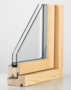 Double Glazed Timber Frame Window