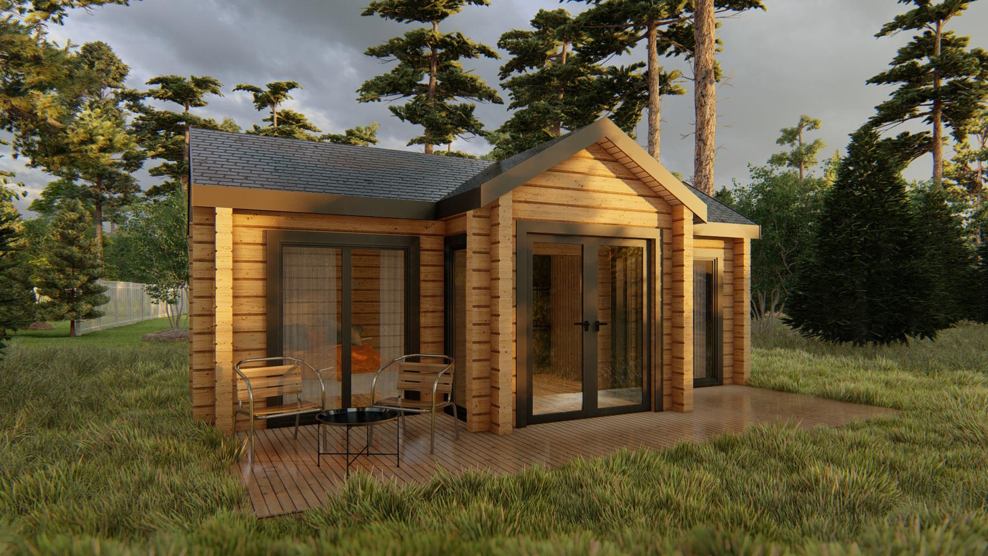 Residential Cabin / Granny Flat - EVA