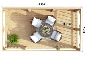 Gazebo 4 - Floor Plan