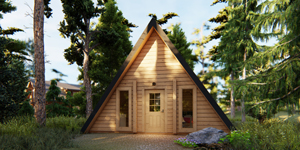 Timber Log Cabin, Granny Flat, Hansel