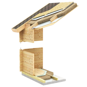 Log cabin wall insulation, Timber Log Buildings Australia, Energy efficiency