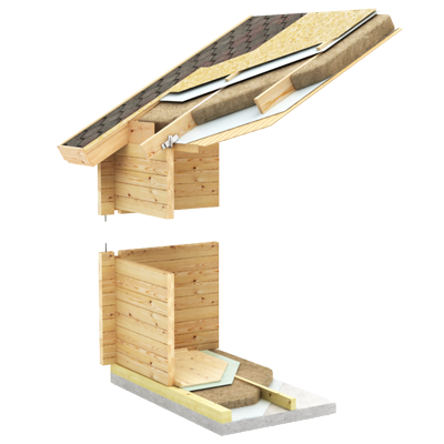 Log cabin wall insulation, Timber Log Buildings Australia, Energy efficiency
