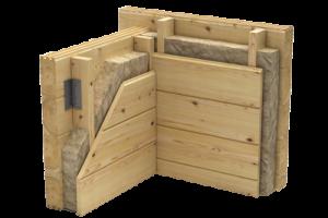 Timber Log Buildings Australia, Thermal Insulation, Wall Cavity