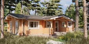 Timber Log cabin, Residence, Jessica