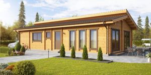 Timber Log Cabin, Granny Flat, NORI
