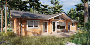 Timber Log Cabin, Granny Flat, ROBIN