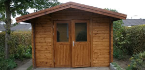 Timber Log Cabin, Granny Flat, Backyard / Garden Sheds