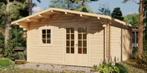 Timber Log Cabin, Granny Flat, Sammy6