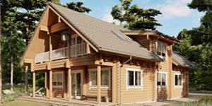 Timber Log Cabin, Granny Flat, SALLY