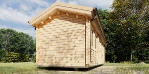 Skid Cabin TORSTEN side view