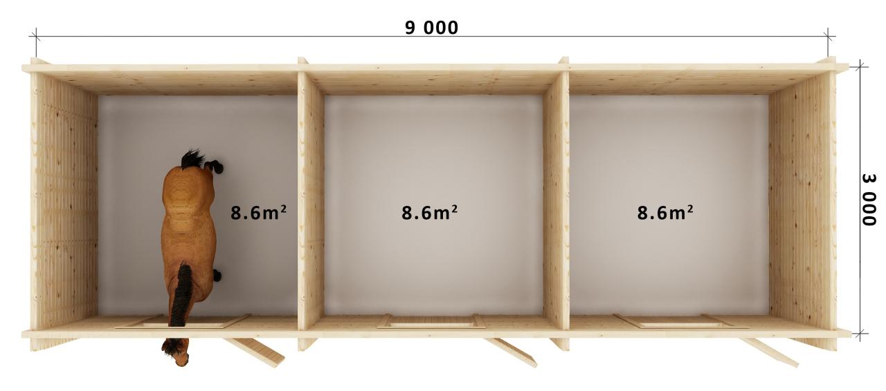 Stables 3 Floor Plan