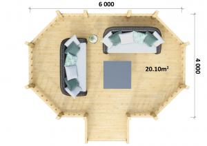 Gazebo 5 - Floor Plan